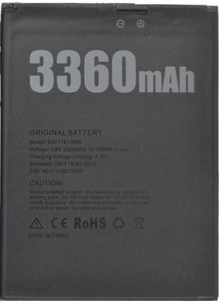 Батарея для Doogee x30