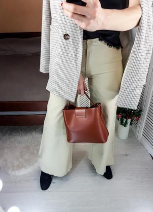 Бежеві брюки - палаццо only