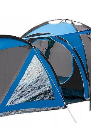 Палатка туристическая 4-х местная Presto Acamper SOLITER 4 PRO...
