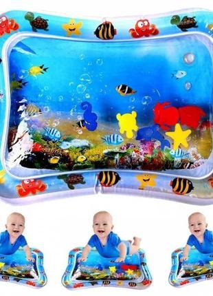 Водяной коврик Qmol с рыбками