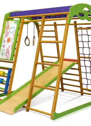 SportBaby Детский спортивный комплекс для квартиры «Карамелька»