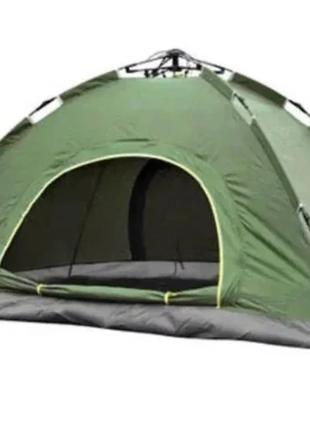 Палатка туристическая автомат 4-х местная, компактная палатка ...