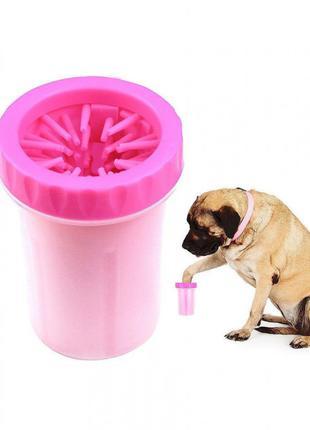 Лапомойка для собак большая SOFT GENTLE LP-002 портативная
