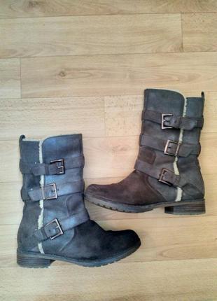 Фирменные сапоги, ботинки clarks