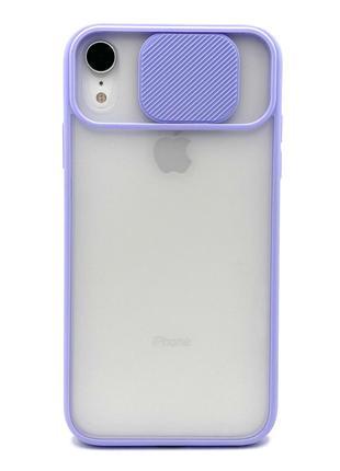 Чехлы с защитой камеры iPhone XR