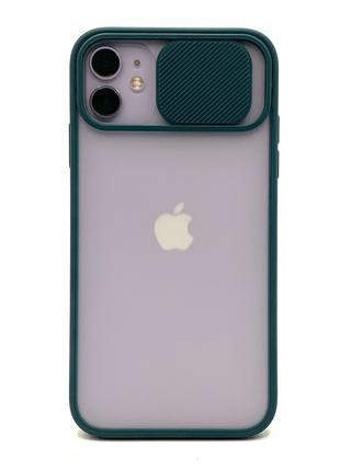Чехлы с защитой камеры iPhone 11