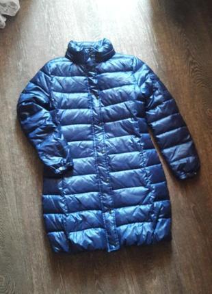 Курточка пальто синего цвета meters/bonwe