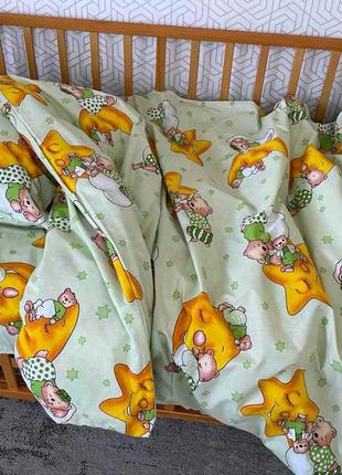 Постельное белье в детскую кроватку
