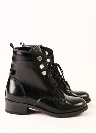 Lux обувь! зимние тёплые красивые ботинки сапоги кожаные для д...