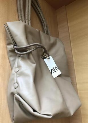 Zara сумка шопер