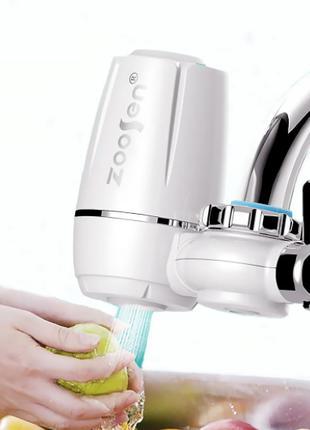 Фильтр-насадка проточной воды на кран Zoosen Water Faucet Wate...