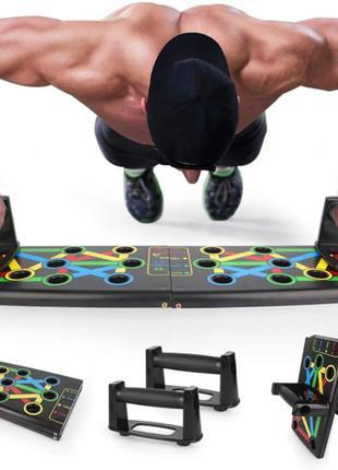 Платформа для отжиманий push up rack board, доска для отжимани...