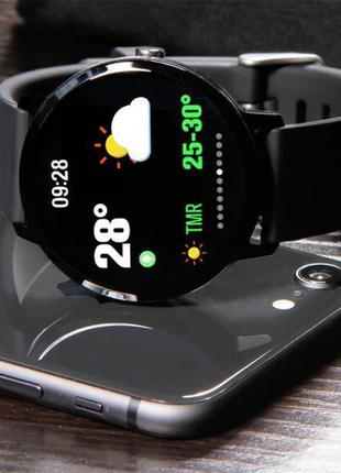 Smart Watch часы V11, Фитнес часы с IPS дисплеем, тонометр, пу...