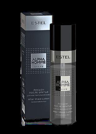 Лосьон после бритья для чувствительной кожи ALPHA HOMME Estel ...
