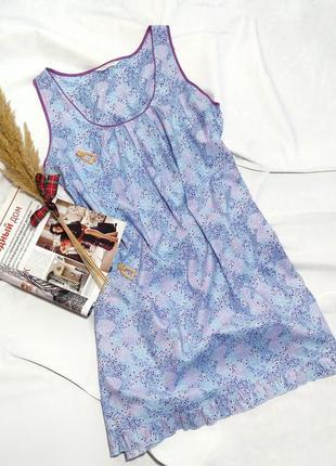Платье домашнее дорогой британский бренд домашней одежды cyber...