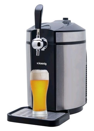 Диспенсор для разлива пива и кваса.