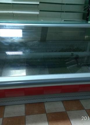 Холодильная торговая колбасная б/у витрина Технохолод Каролина 2м