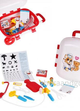 Игровой набор Доктора 4753TXK в чемодане, набор доктора детски...