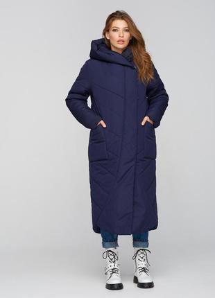 "Куртка ""одеяло"" синий"