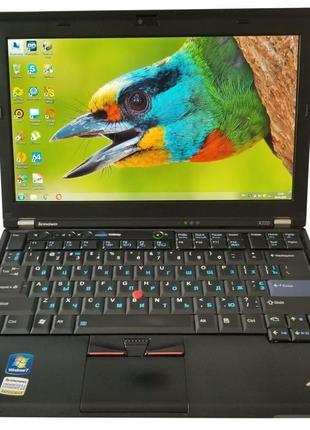 """Ноутбук Lenovo ThinkPad X220 12"""" i5 4GB RAM 320GB HDD"""