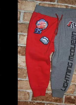 Новые спортивные штаны джоггеры мальчику 2 - 3 года Disney начос