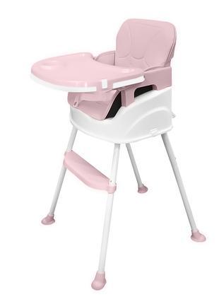 Детский стульчик для кормления Bestbaby BS-8808 Pink обеденный...