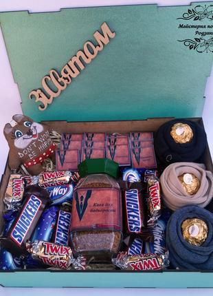 Подарунковий набір,подарунок для чоловіка, друга,шефу, куму, тату
