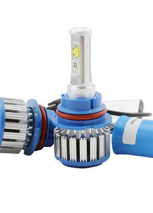Xenon T1-H4 Turbo LED фары 6000К MS