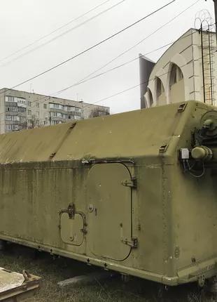 Кунг военный с кран балкой 3 тоны