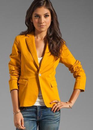 Желтый пиджак жакет блейзер g-star olympia