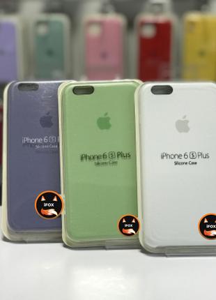Чехол Silicon Case для iPhone 6+ / 6s+, силиконовый