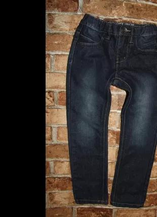 джинсы синие мальчику 6 лет
