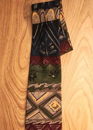 Стильный красивый мужской шелковыій галстук от gilberto
