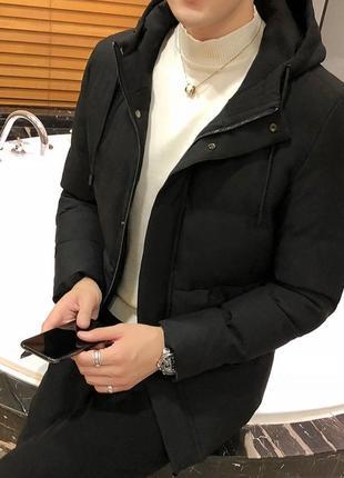 Мужская зимняя куртка холофайбер