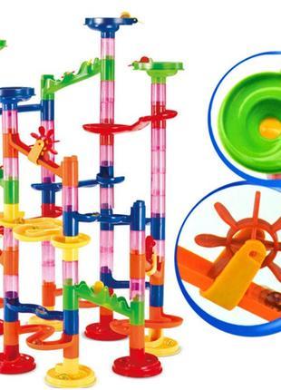 Детский конструктор лабиринт 105 деталей