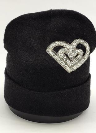 Детская шапка ангоровая теплая