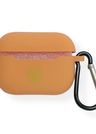 Чехол Apple AirPods Pro Silicone Case apricot