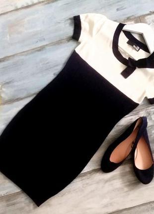 Трикотажное мини-платье love moschino.