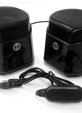 Музыкальные колонки для компьютера 2.0 EVO688