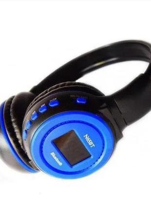 Беспроводные bluetooth наушники N65BTBT, с MP3 плеером, FM рад...