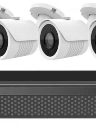 Набор видеонаблюдения (4 камеры) (без монитора) 2MP, уровень з...