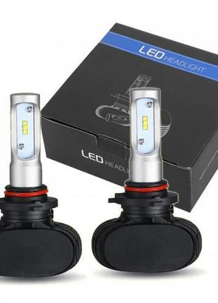 Комплект LED ламп для авто Ближний/Дальний Headlight S1 H11, с...