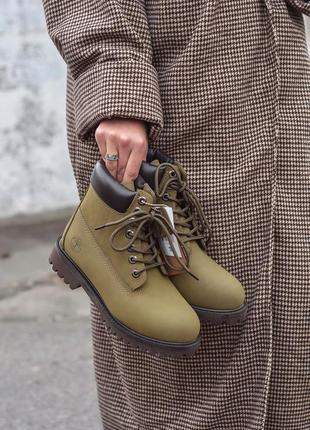 Timberland boots женские зимние ботинки с мехом тимберленд
