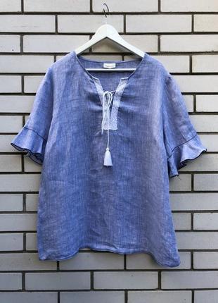 Блуза,рубаха,вышиванка кружево по груди,рюши,этно,деревенский ...