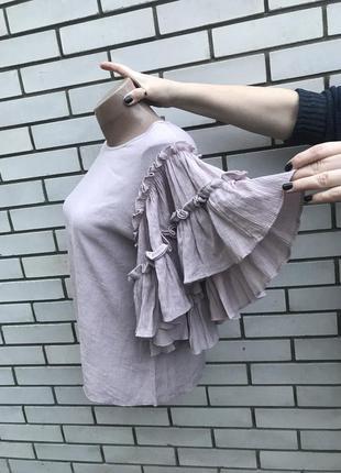 Блузка с пышными воланами,рюшами по рукавах,этно,бохо стиль da...