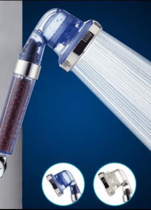 Лейка-насадка для душа SPA ENERGY c фильтром и турмалиновыми г...