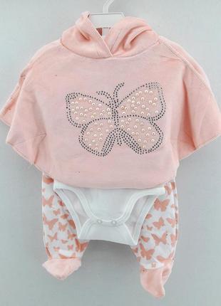 Комплект на девочку для новорожденного