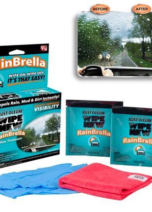 Антидождь | Защитная жидкость для стекла автомобиля NBZ RainBr...
