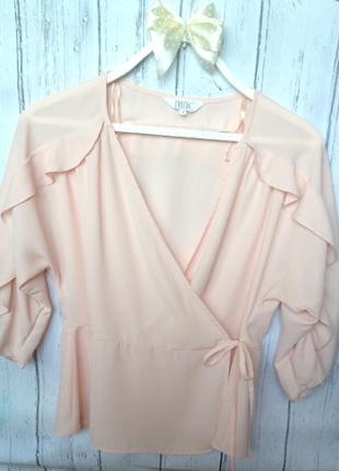 Блузка блуща футболка летучая мышь nine