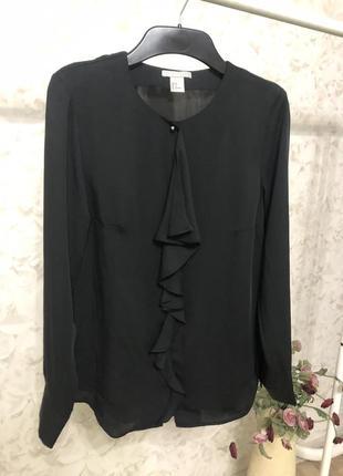 Черная блузка h&m!